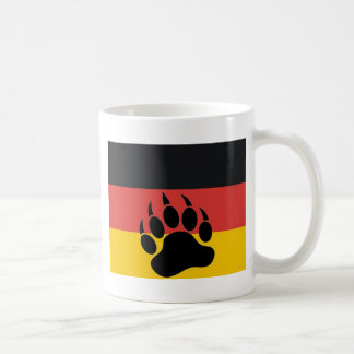 German Bear Pride Basic White Mug