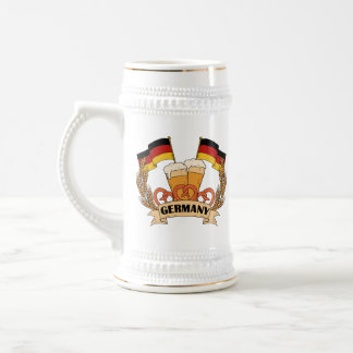 German Beer custom name mugs