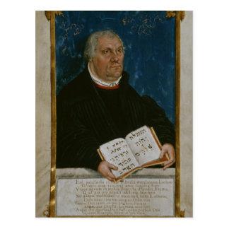 German Bible of Luther's Translation, 1561 Postcard