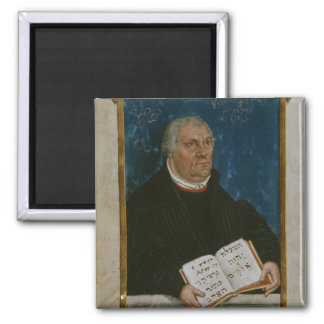 German Bible of Luther's Translation, 1561 Square Magnet