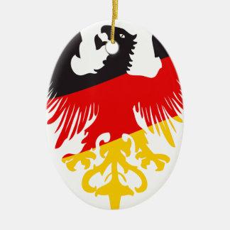 German Black Eagle Christmas Ornament