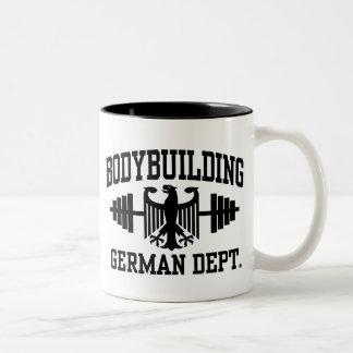 German Bodybuilding Two-Tone Coffee Mug