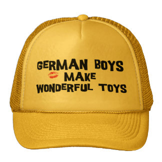 German Boys Make Wonderful Toys Trucker Hat