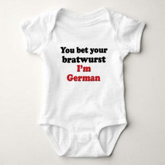 German Bratwurst Baby Bodysuit