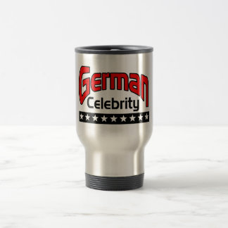 German Celebrity Travel Mug