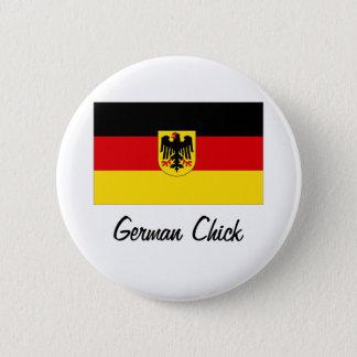 German Chick Button