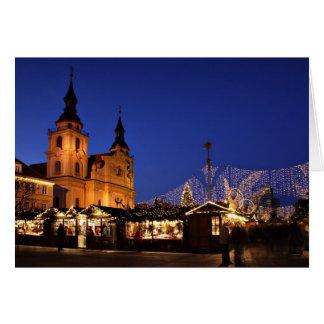 German christmas market card