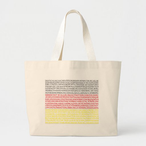 German Cities Flag Bag
