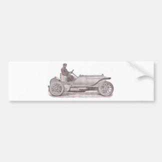 German Classic Car Mercedes Camille Jenatzy Bumper Sticker
