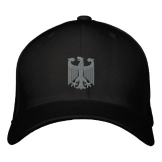 "German ""Coat of Arms"" Emboidered Cap Embroidered Baseball Cap"