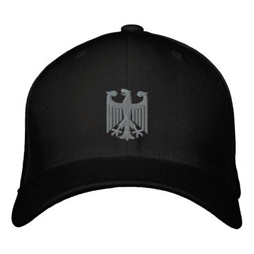 """German """"Coat of Arms"""" Emboidered Cap Baseball Cap"""
