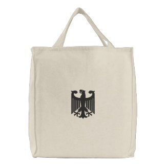 "German ""Coat of Arms"" Embroidered Bag"