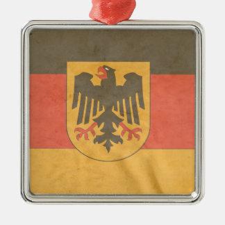 German Coat of Arms Flag Christmas Ornament