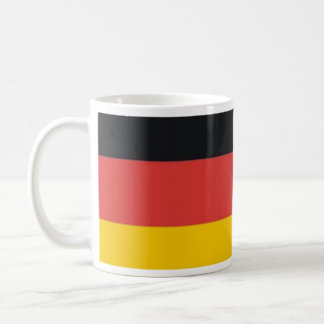 German Deutschland flag Classic White Coffee Mug