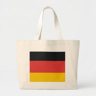 German Deutschland flag Jumbo Tote Bag