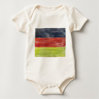 German Distressed Flag - Germany Baby Bodysuit