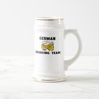 German Drinking Team Stein