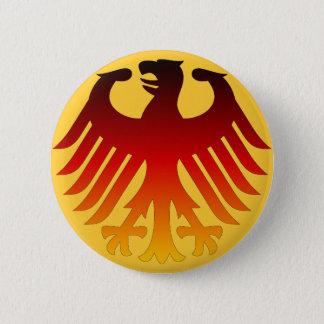 German Eagle 6 Cm Round Badge