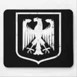 German Eagle - Deutschland coat of arms Mousepads