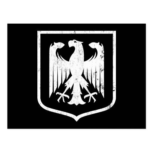 German Eagle Black And White - intellego