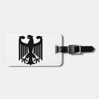 German Eagle Luggage Tag