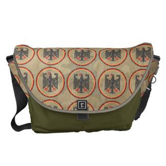 German Eagle Pattern Messenger Bag