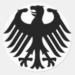 German Eagle Stickers