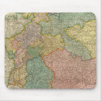 German Empire Atlas Map Mouse Mat