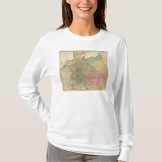 German Empire Atlas Map T-Shirt
