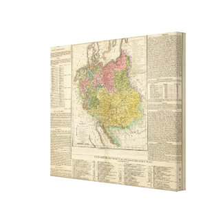 German Empire Canvas Print