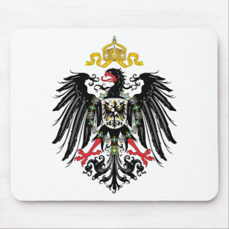 German Empire Coat of Arms (1889) Mouse Mat