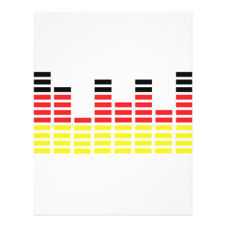 german equalizer icon personalized flyer
