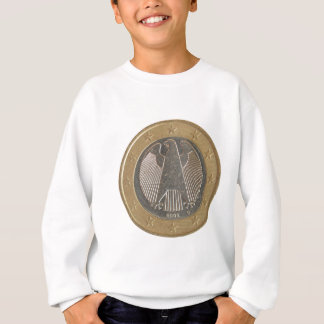 German Euro coin Sweatshirt