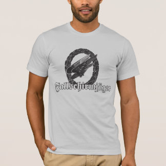 German Fallschirmjager Decal T-Shirt