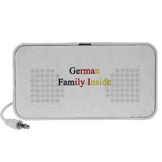 German Family Inside Travel Speaker