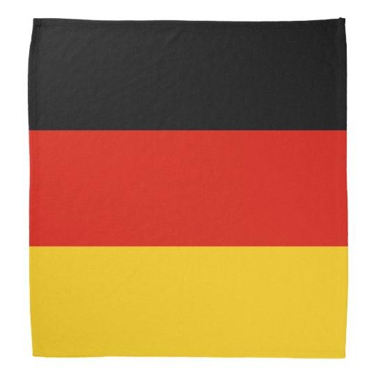German flag bandanna | Colours of Germany