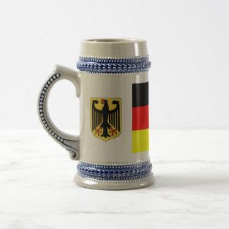 German Flag Beer Stein Mugs