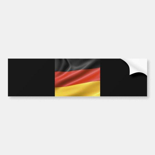 German Flag Car Bumper Sticker