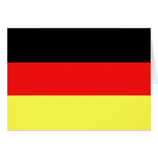 German Flag Card