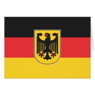 German Flag Greeting Cards
