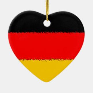 German Flag Christmas Ornament