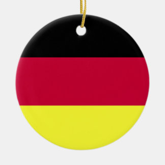 German Flag Christmas Ornament