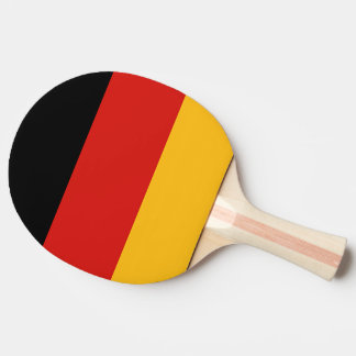 GERMAN FLAG COLORS PING PONG PADDLE
