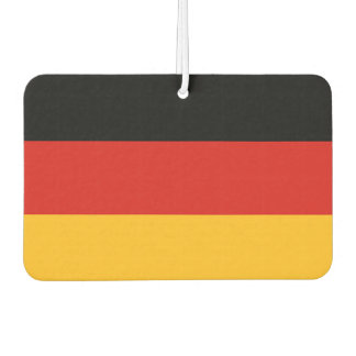 GERMAN FLAG COLORS + your ideas Car Air Freshener