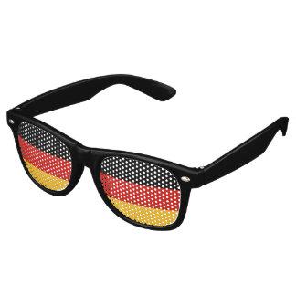 GERMAN FLAG COLORS + your ideas Retro Sunglasses