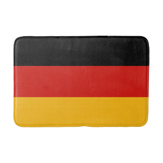 GERMAN FLAG COLORS + your text & ideas Bath Mat