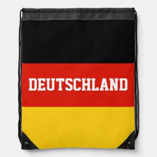 German flag drawstring bag | Germany backpack