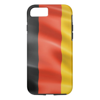 German flag for Apple iPhone 7, Tough iPhone 8/7 Case