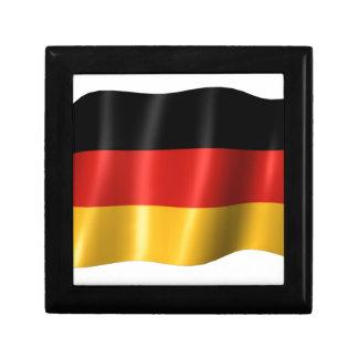German Flag Trinket Box