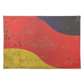 German Flag Grunge Placemat